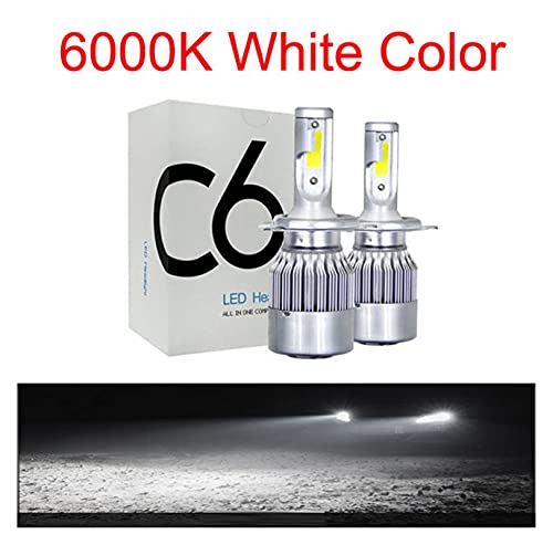 Luces led para Autos 2 unids Luces de automóvil H7 8000LM H11 LED Lámpara Luz de Cabeza Bombillas H4 H1 H3 H8 9005 9006 HB3 HB4 9012 9007 Turbo LED Bulbs 12V 24V Luces led para Coches