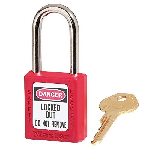 Masterlock s410red M/Lock Lockout Vorhängeschloss–Rot