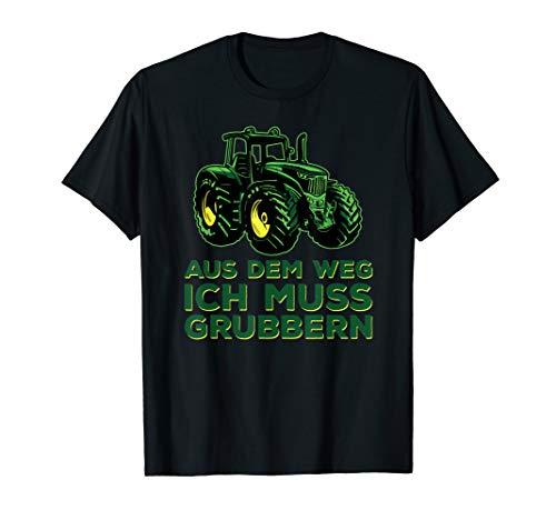 Grubber Kleintraktor für Lohnunternehmer T-Shirt