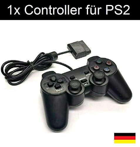 Controller für PlayStation 2 +1 Dual Vibration Wired kabelgebunden PS2 PS1 von mediBuy24 - Xmedia Games
