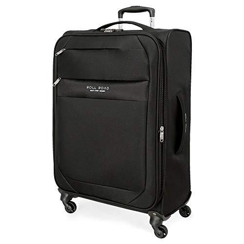 Roll Road Royce Black Suitcase 76cm