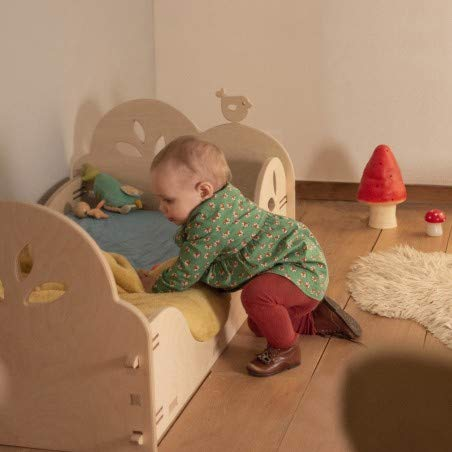 Alfred & Compagnie - Cama infantil tipo Montessori 60 x 120 LILIE