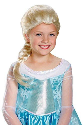 Disguise Girls Frozen Elsa Wig Standard