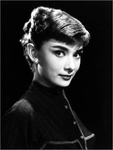 Posterlounge Cuadro de metacrilato 60 x 80 cm: Roman Holiday, Audrey Hepburn de Everett Collection