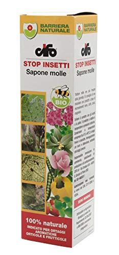 CIFO - Schmierseife gegen Blattläuse und Spinnen - Schutz für Obst-, Gemüse- und Kräuterpflanzen - 200 ml