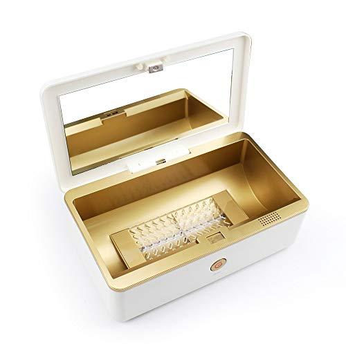 YJF UV-Sterilisator Desinfektions-Reinigungsbox Mit Ozon Automatische UV-Licht-Desinfektion Für Telefon, Schlüssel, Brief, Make-Up-Pinsel, Schnuller, Unterwäsche