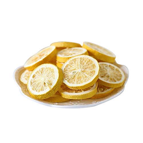 Gefriergetrocknete organische getrocknete Zitronenscheiben Duft Zitrusfrüchte duftender Tee Tea Tee, Wasser einweichen (100g)3.5oz
