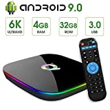 Android TV Box, EASYTONE Android Boxes 4GB RAM 32GB ROM Quad-Core, Built-in WiFi