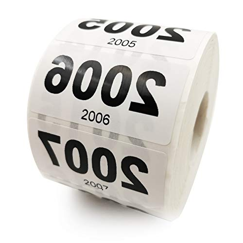 Reverse Number Stickers for Live Sales - 1000 Pcs Mirrored Consecutive Numbers (2001-3000) for Live Sales Items Labeling with Small Forward Numbers for Easy Identification by Seller