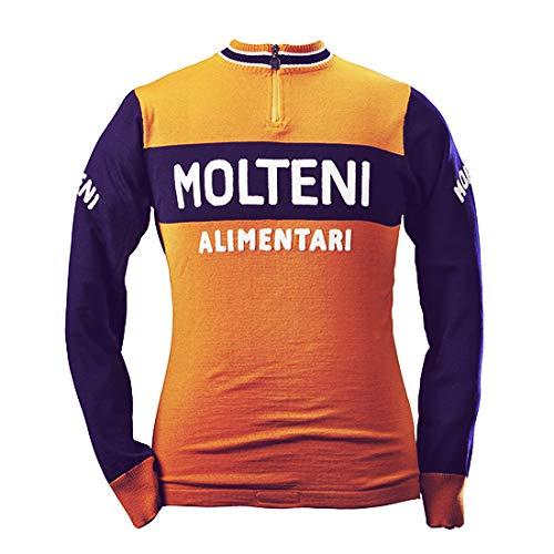 Maillot Ciclismo Manga Larga Molteni Team 1974 XXL