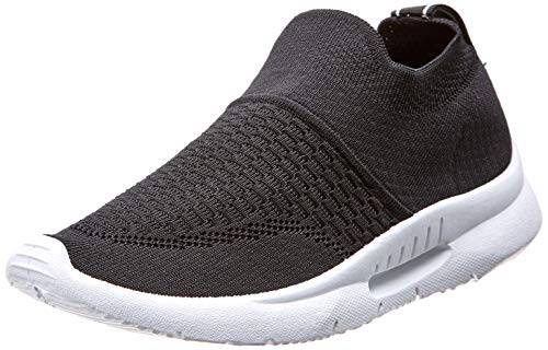 XTI 49098, Zapatillas sin Cordones para Mujer, Negro (Negro Negro), 38 EU