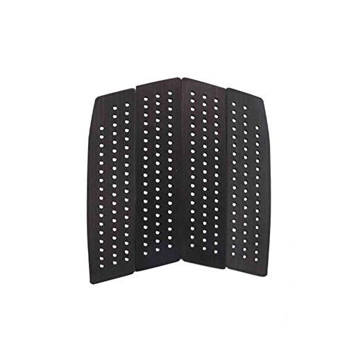 HEQIE-YONGP Accesorios de Surf Frente Tracción Pad - Grip Squared 4 Piezas Frontal For Todas Las Tarjetas con La Cubierta del Cojín Pegajoso Adhesivo De 3M Surf (Color : Black 2)