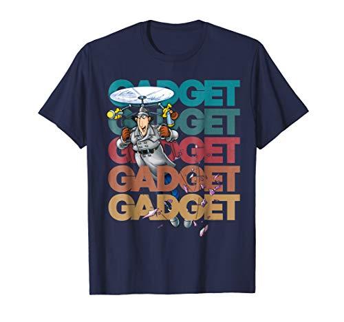 Inspector Gadget - Adult T Shirt - Typography 04