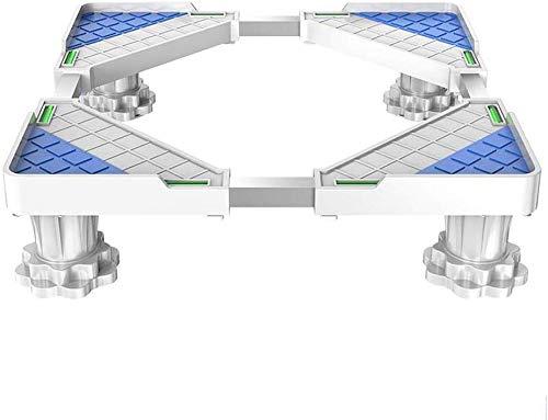 DBAF Verstellbare Walzen Maschinenbasis Automatische Waschmaschinenbasis Waschmaschine Geräuschreduzierung Bodenplatte Feuchtigkeitsbeständige Halterung Gerätebasis (Größe: B)