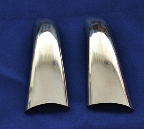 Espejo izquierdo + derecho de puerta de acero inoxidable cubre accesorio para Scania serie R