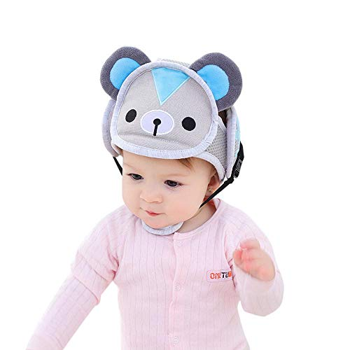 KOBWA Baby-Sicherheitshelm, verstellbar, für Kleinkinder, Kinder, zum Laufen und Krabbeln