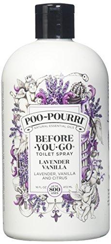 PooPourri Lavender Vanilla Scent Refill Bottle 16 OZ (1)