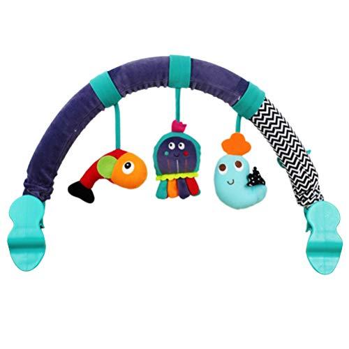 YeahiBaby Arco de Actividad de Peluche Animal con Pinza de Cuna Cochecito o Carrito para Beb/é Reci/én Nacido