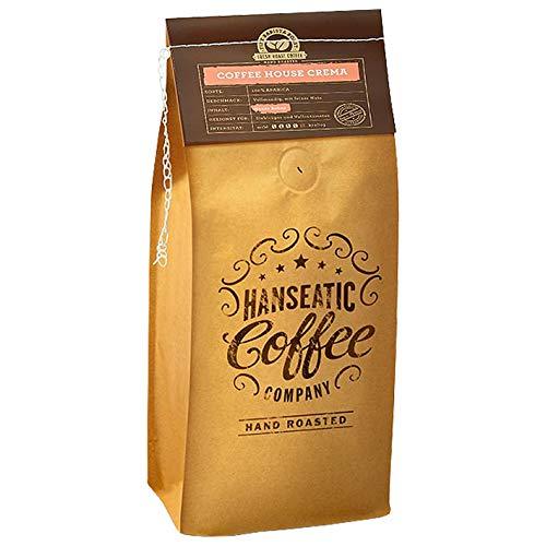 Hanseatic Coffee Company Coffee House Crema, 1000g ganze Bohne, 1er Pack