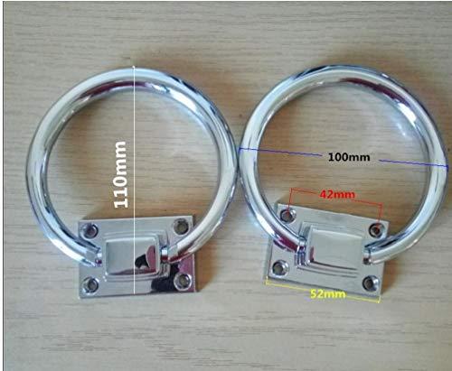 Lankater 1pc Colgante Tire Tiradores De Puertas Redondo del Anillo del Cajón del Gabinete De Armario Asas Muebles De Dormitorio Perillas Tire