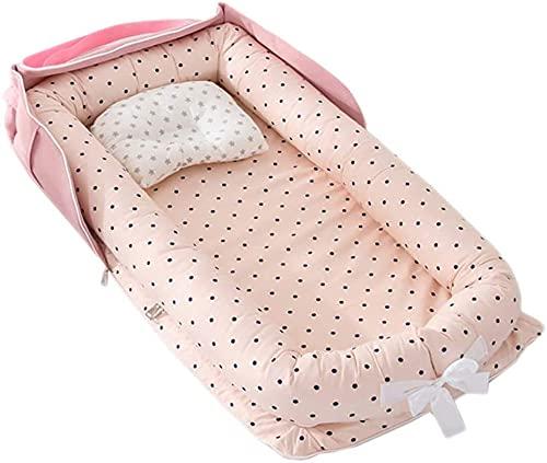 Meiruyu Bolsa de Viaje para bebé con pañal. Cuna de Viaje Plegable,...