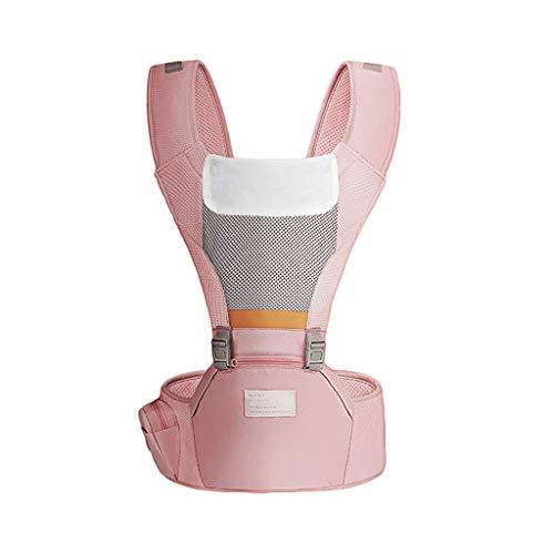 Porte-bébé à la Taille Tabouret Simple Tabouret en Coton Respirant, adapté aux Mois d'été ( Color : B )