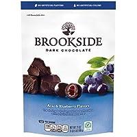 BROOKSIDE Dark Chocolate Candy, Acai & Blueberry, 21 Ounce Bag