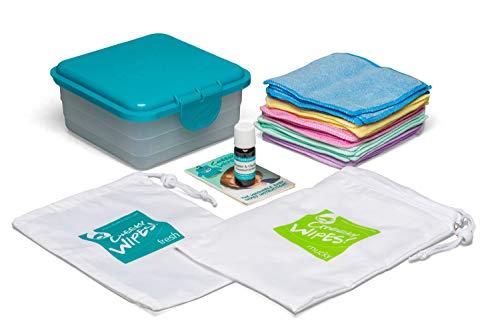Cheeky Toallitas Manos caras Kit tela lavable toallitas
