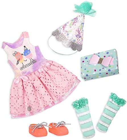 Glitter Girls by Battat What A Surprise 14 Deluxe Birthday Party Doll Outfit Toys Clothes Accessories product image