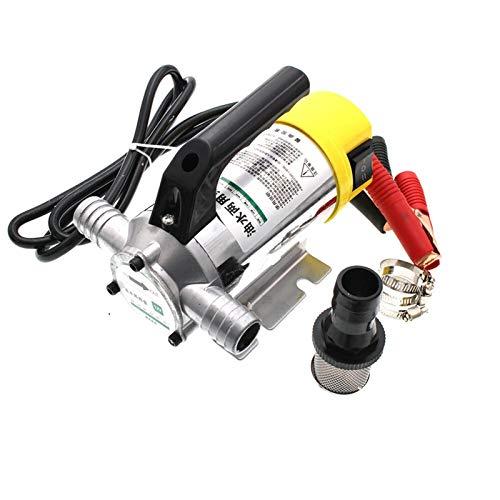 liuchenmaoyi Aquariumzubehör Diesel-Öl-Pumpe 12V 24V Kerosin Diesel Öl-Wasser-Pumpe Füllen Positive und Negative Funktion 50L Aquarium (Voltage : 24V)