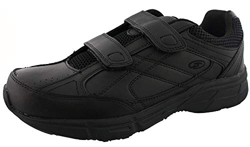 Leather Shoes for Men With Velcro Strap