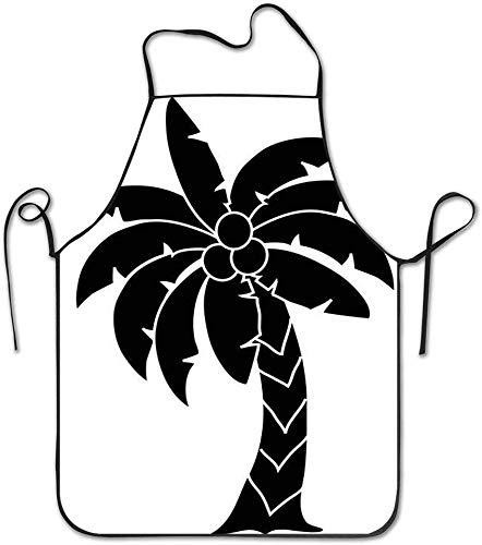 Kostenlose Palme Clipart Bilder Kochschürze Küchenschürze, wasserdicht haltbar einstellbar