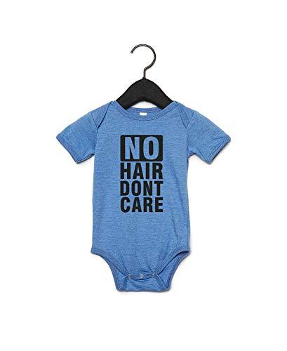 Promini - Body para bebé con frase 'No Hair' Blanco blanco 2 mes