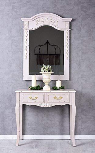 Konsolentisch Rokoko Tischkonsole Rosa Wandtisch Konsole Holzkonsole Antik Palazzo Exklusiv