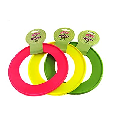Happy Pet Hoop La Hoop Dog Throw and Fetch Toy - Small 15 centimetre - Various Colours