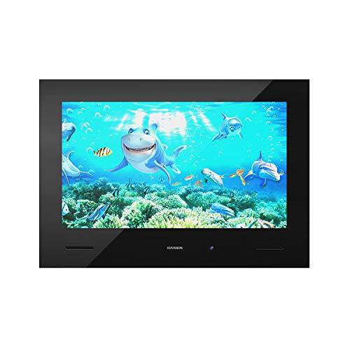 KUVASION KVS43 Premium 43 Inch DVB-T2S2 Waterproof Bathroom TV, 43 Inch Full HD Freeview Waterproof Bathroom TV, 43 Inch Smart Bathroom Waterproof TV, Black