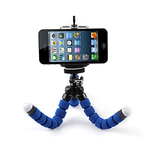 Easypro by Droihealth Flexible Octopus Style Tripod with Universal Monopod Mount Adapter and Long Screw Mobile Holder (Colour as Available)