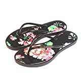 Mujeres Slippers Shoes,Moda Sandalias Femeninas,Zapatos De Agua De Verano Mujeres Flip Flops,Sildes Outside Beach Negro 37-39