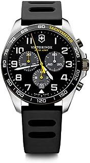 Victorinox - Hombre FieldForce Sport Chronograph - Reloj de Acero Inoxidable de Cuarzo analógico de fabricación Suiza 241892