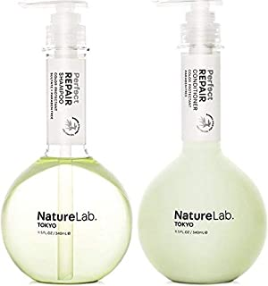 NatureLab Tokyo Perfect Haircare (Repair Shampoo & Conditioner Duo) (11.5 ounce each)