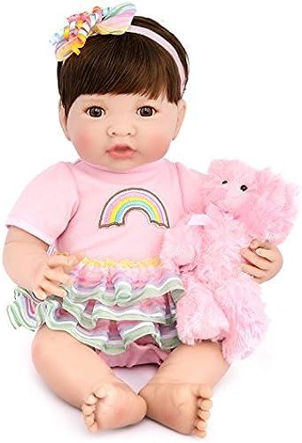 ATOYB Simulation Neugeborenen Silikon Puppen Reborn Baby Lebensechte Puppe Reborn Babies Reborn Puppe Realistische Baby Dolls