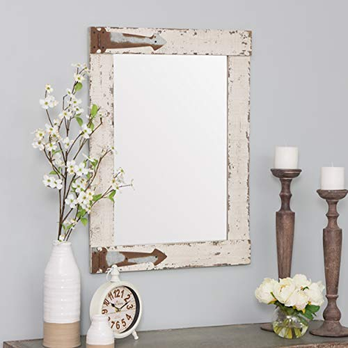 Aspire 6152 Wall Mirror, White