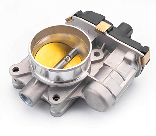Tecoom 12631186 Professional Electronic Throttle Body Assembly for Buick GMC Pontiac Saturn 2.4L Cars.