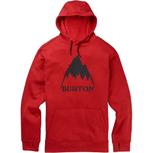 Burton Herren Fleecejacke M Oak PO, Größe:XL, Farben:Flame Scarlet Htr