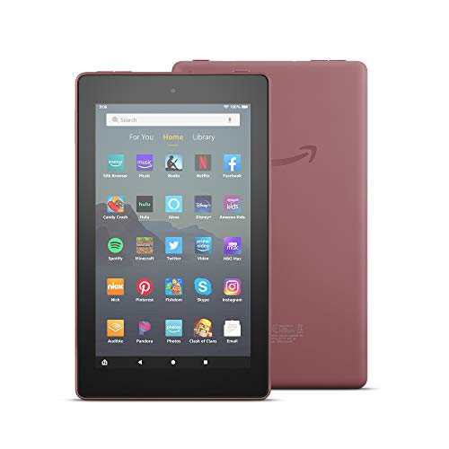 Fire 7 tablet (7' display, 32 GB) - Plum