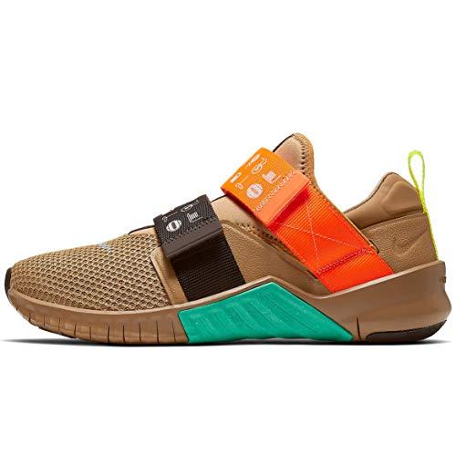 Nike Men's Free Metcon 2 UT Training Shoes (11, Beechtree/Velvet Brown/Kinetic Green/Total Orange)