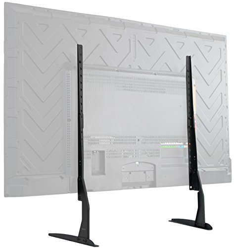 VIVO Universal Tabletop TV Stand for 22 to 65 inch LCD Flat Screens | VESA Mount with Hardware Included (STAND-TV00Y)