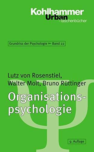 Grundriss der Psychologie: Organisationspsychologie