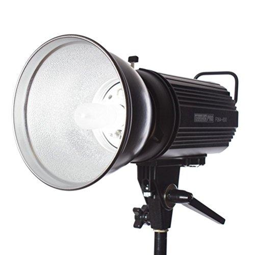 Fovitec StudioPRO SDX-600 Photography Studio Monolight, Professional Studio Strobe Flash Lighting Head 600 Watts/s