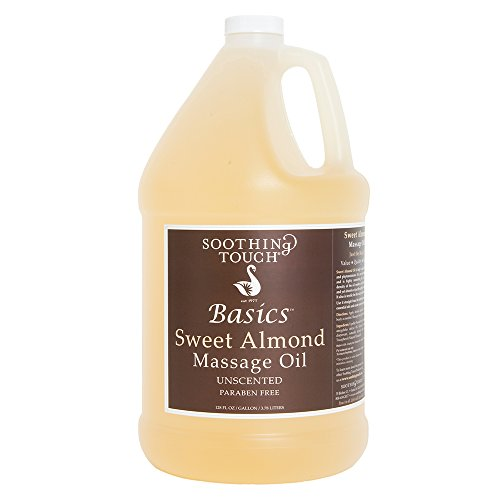 Great Features Of Soothing Touch W67353G Basics Sweet Almond Oil, 1 Gallon by Soothing Touch